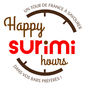 Logo Happy Surimi Hours