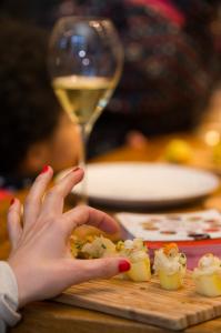 HAPPY SURIMI HOURS - Bouchée de choucroute au surimi