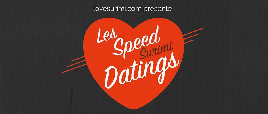 Les Speed Surimi Datings ou les rencontres gourmandes du surimi dans des recettes vidéo.