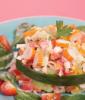 Tartare de légumes au surimi