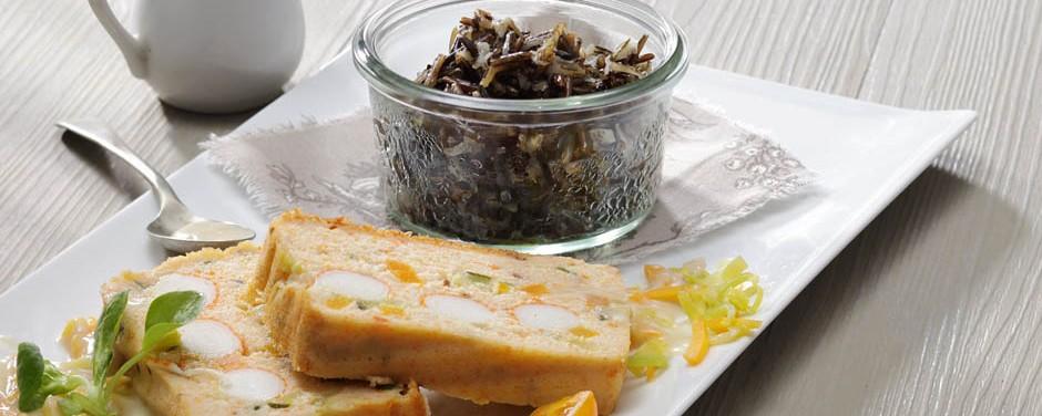 Terrine surimi sauce waterzooï